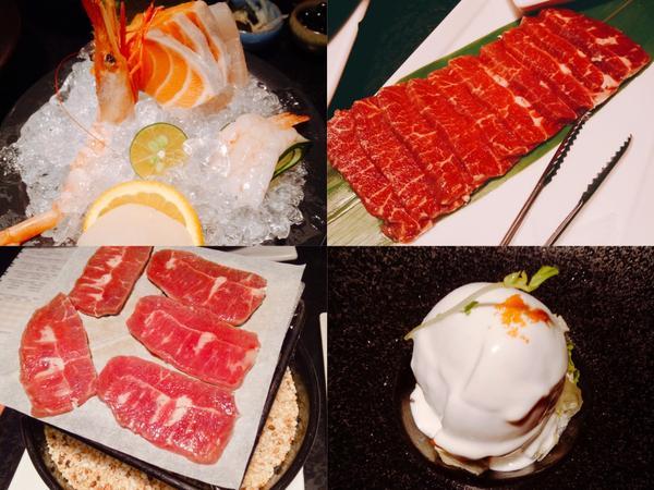 📍[台北]藝奇新日本料理 DIY岩烤石板牛好吃又好玩文 / #少女心文室 我也知道寫王品旗下餐廳在