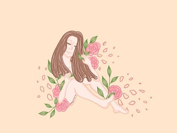 Rosey Breeze🌹玫風徐徐#art #instagram #illustratoin #r