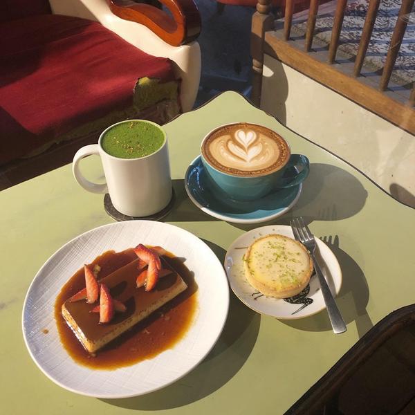 |台中甜點|✨審計附近的復古咖啡廳 布丁好讚✨✨