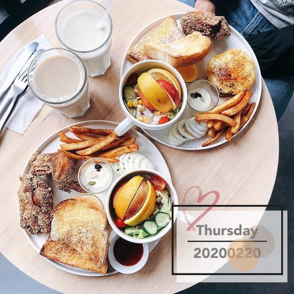 【台南美食】最強連鎖平價早午餐!多樣化選擇~假日總是大排長龍🌏六吋盤早午餐 很夯的平價連鎖早午餐店