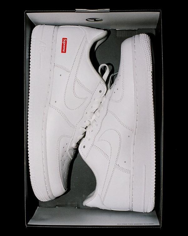 【波波快訊】搶鞋潮再來一波?當Nike air force加上Supreme logo,你買單嗎?在