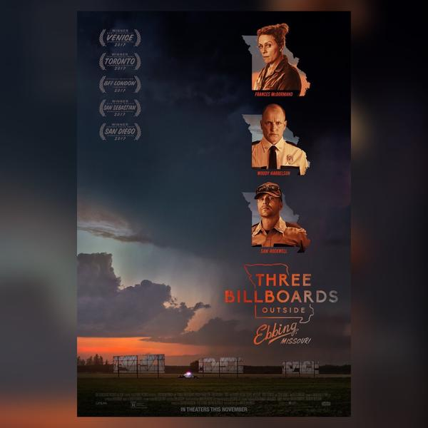 【電影心得】🥨 意外 Three Billboard Outside Ebbing, Missou