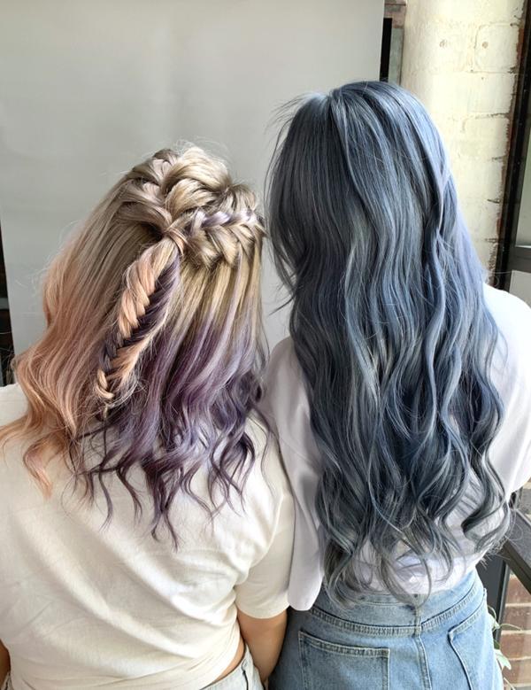 姐妹可以一起做好多事包括做頭髮 Color . ILLUSION HAIR By: CocoMi .