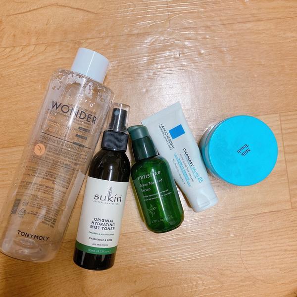 在韓國用完的—空空賞在韓國用完的東西! 這五樣都很推薦唷!  1 tonymoly 化妝水👍👍�