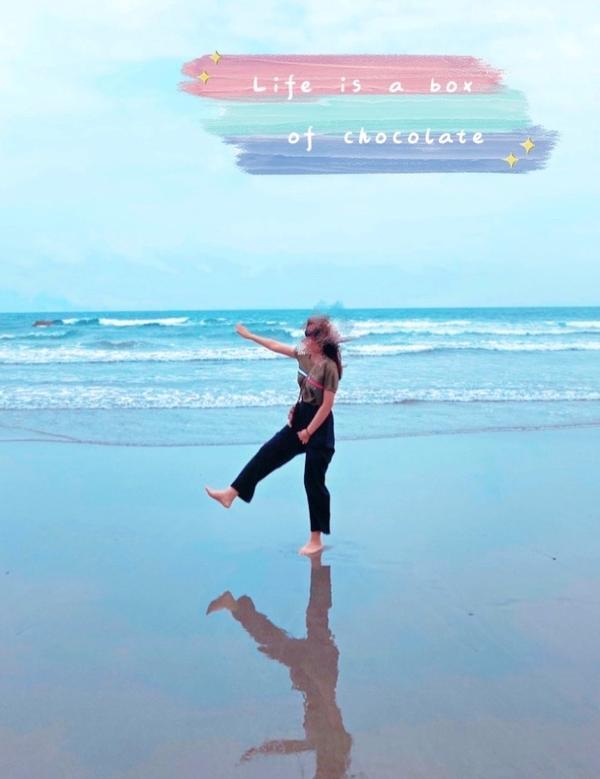 台版天空之鏡~私密景點大公開📍台東—都歷海灘  位於台東的都歷海灘 退潮時因為沙子保水度的關係~讓