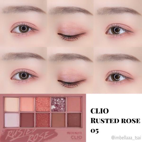 Clio 眼影盤05💜粉紫色調的眼妝💜 這個眼妝很簡單,只有四步驟! 這盤是 @clio_off