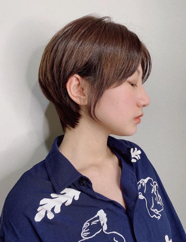 #韓短髮#여자숏컷  #短髮燙髮 #吹乾即可髮型  每次給予不同風格的短髮 跟我一樣是左撇子設計師