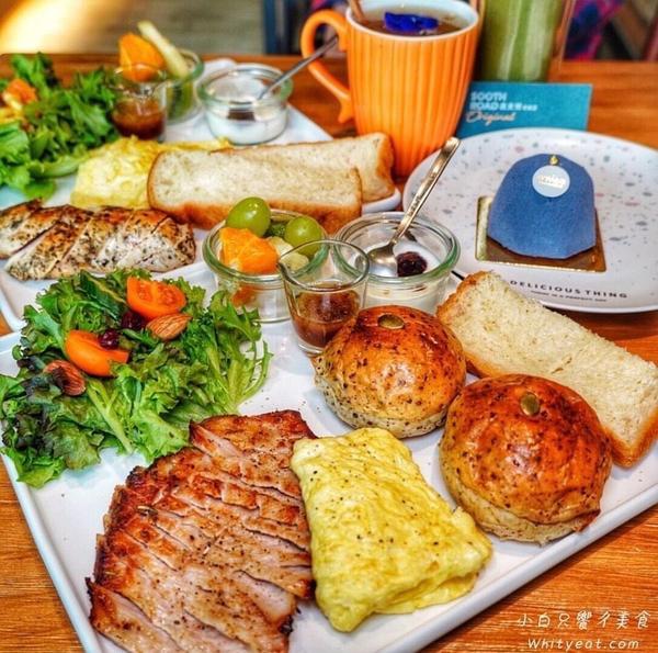 台南東區「蔬食樂初始店」早午餐開賣啦!使用無毒生菜好健康 綠拿鐵經典好喝#蔬食樂 也開始賣早午餐囉!
