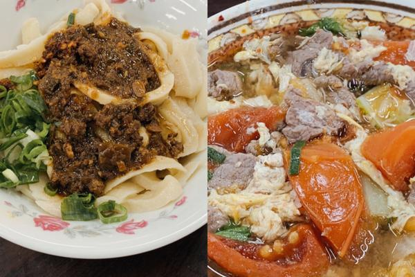 在台北跟蹤夏天   牛肉麵控不要錯過 隱身在二樓的最強刀削麵南門市場就是南區居民的廚房 原建築改建中
