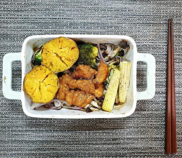 跟我一起養成吃飯的好習慣🍽🍛#cindywu廚房當你發現烤想的美好時...一切都是這麼容易👍生