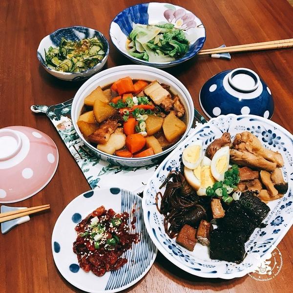 【自己煮美食】--- #嚼嚼紅白蘿蔔滷五花參考菜單@icooktw愛料理五花肉滷蘿蔔by鄭燦華-就在