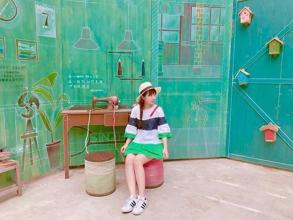 台南最近很受歡迎,但你很可能還沒去過的美美彩繪牆!蝸牛巷實在太可愛了!