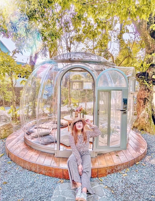 絕美玻璃屋餐廳就在宜蘭礁溪🤩搜尋宜蘭景點的時候發現這個超美的透明玻璃屋餐廳真的是立馬珍藏😆 當天