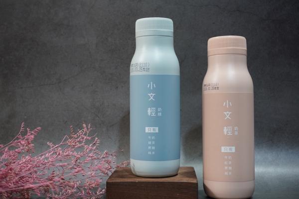 🧃超商新品快訊🧃:小文輕奶茶,包裝超文青|陳先生陳太太今天在全家購入「小文輕奶茶」,屬於茶味大於