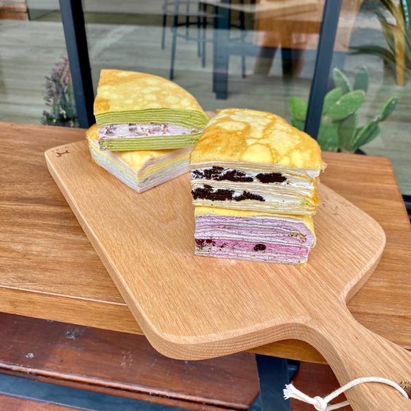 [宅配]千層蛋糕•平價版的LADY M🍰💥📍塔吉特千層蛋糕 🥄精選綜合千層(8吋)$870