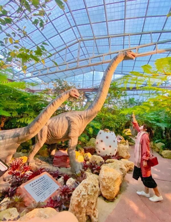 鳳梨公園裡出現侏羅紀沒想到鳳梨公園裡,竟然還有🦕恐龍園區耶!是2019年全新推出恐龍冒險之旅,每隻