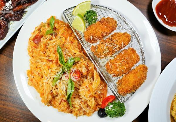 就愛隱藏巷弄美食 超濃義大利麵巨蛋商圈低調老饕激推的MR.JUNE義大利麵、燉飯、創意私房料理美食M