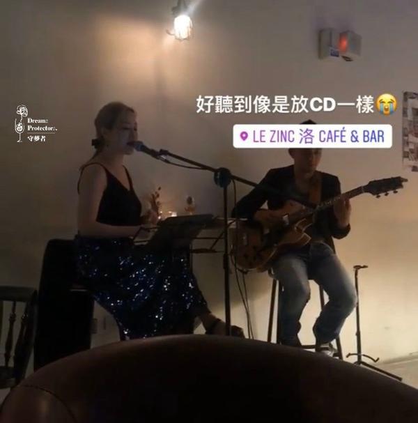 台北📍今夜與藍調相約在大稻程— le zinc洛咖啡小酒館#環境lezinc洛咖啡小酒館位於文藝復