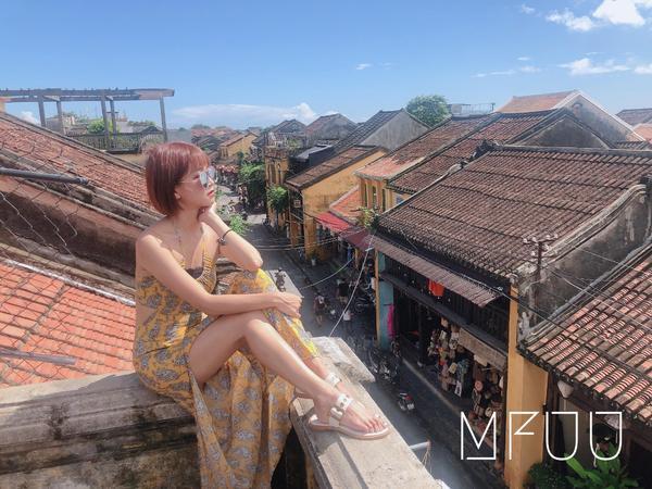 ☕️MuRed in 越南 🇻🇳                  一起來到屋頂上遠眺會安吧🔭