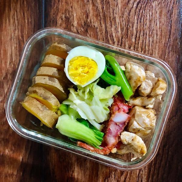 增肌吃什麼🏋️♀️ 其實減脂好像也適用😂通常有上班的時候,我都是下班後運動(18點後)飲食部分