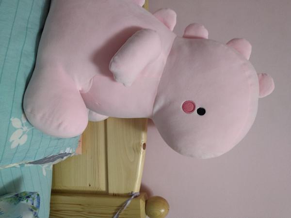 粉紅色粉紅色的恐龍粉紅色的牆壁