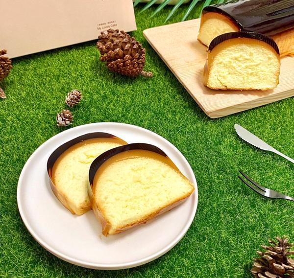 📍台北 •  中山區【米滋崎專業烘焙】  超紅的布丁輕乳酪蛋糕🍰之前常常搶也搶不到😂雖然外觀不