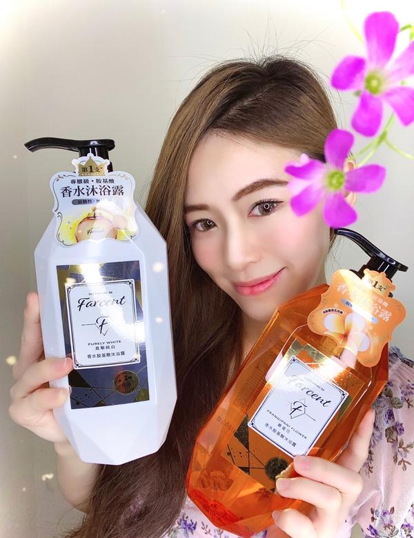 一起來當香香的花仙子🧚♀️#Farcent香水胺基酸沐浴露來自歐洲百年的精心調香真的好香啊!💐