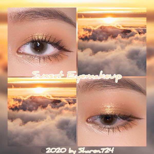 🌇夕陽眼妝🌇IG美妝帳號:Sharon.724 因為疫情的關係真的快三百年沒化妝了(每天都戴口罩