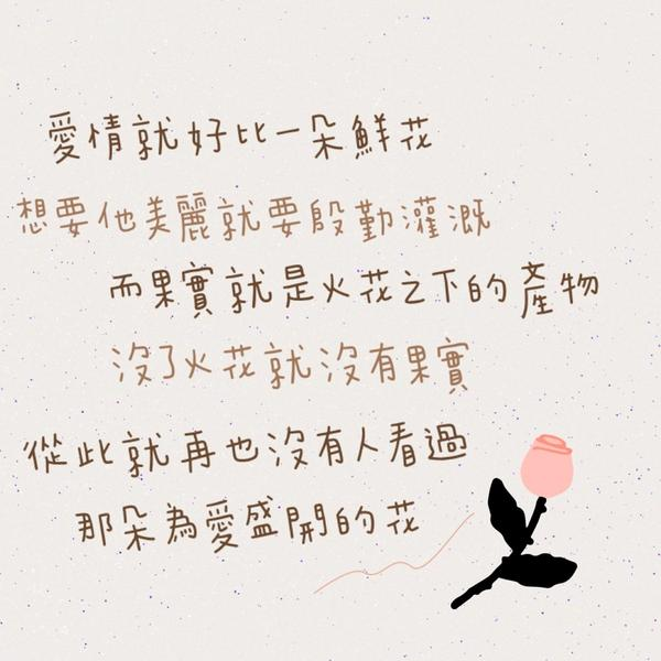 怎樣的愛情不需要火花 每段感情多多少少都需要火花 有些花的花期長有些花期短。  相處的模式不同,製造