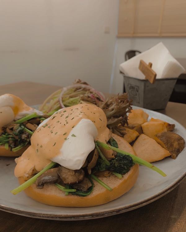士林早午餐Green Kitchen 貳🥯🍴午餐到訪的green kitchen 其實開好一陣子