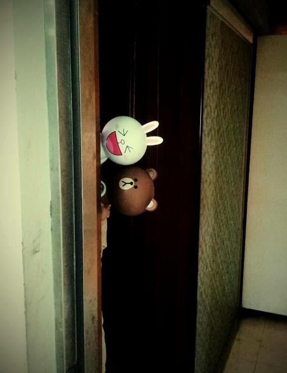 熊大跟兔兔~ 超可愛~有沒有人跟我一樣喜愛他們呢~