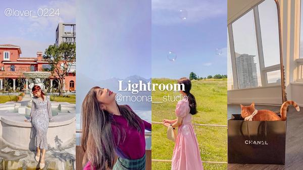 Lightroom ✨ 少女日常色調Instagram|@moona__studioLightroo