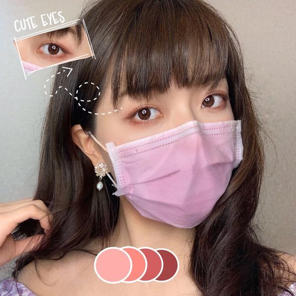 粉紅色好可愛 💗💗💗ピンク~🐷🎀💗👛🎟🌸  耶~粉紅色口罩~~ 還特別用了很