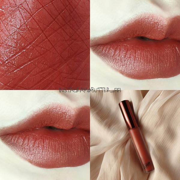 軟萌珊瑚紅棕❣Bbia 霧面絲絨唇釉 #24@bbia 霧面絲絨唇釉 # 24 珊瑚紅棕 . . 這