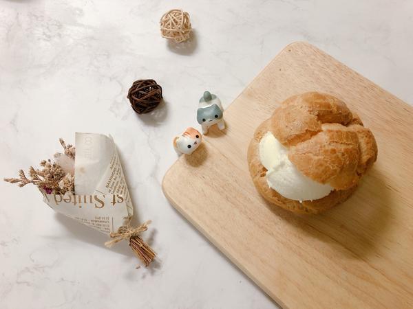 【手做烘焙】-奶油空心餅(附食譜)原來泡芙的本名叫奶油空心餅阿ヽ(✿゚▽゚)ノ食材(約8顆泡芙):沙