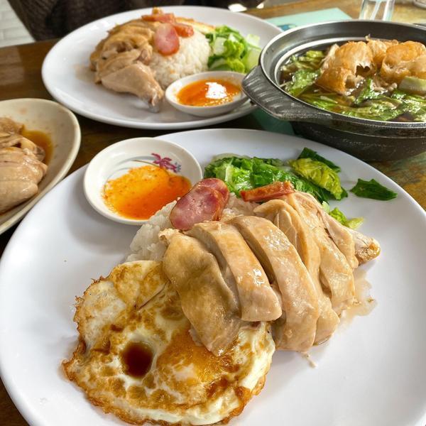 【吃什麼 x 台南】道地的馬國平價美食📍正宗海南雞飯 📍肉骨茶一人份 📍雞腿  中西區是台南美
