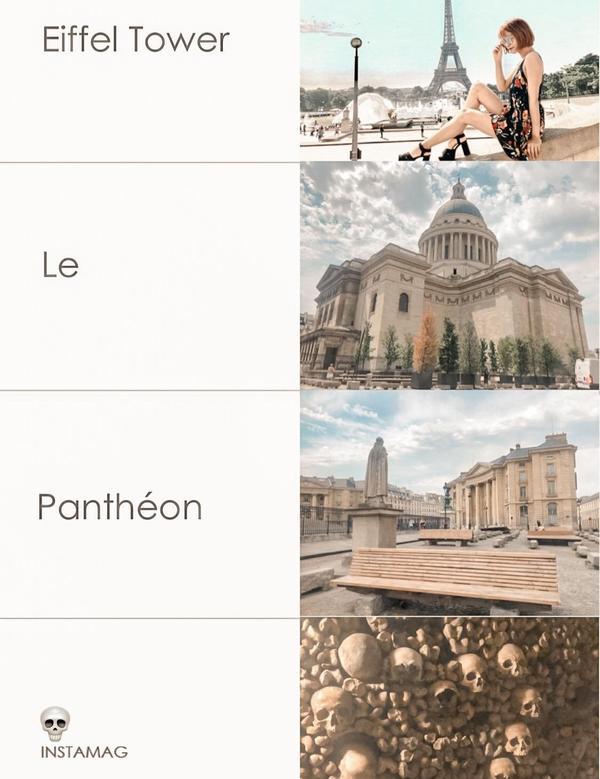 ☠ MuRed in 法國 🇫🇷 最讓人著迷的巴黎鐵塔/神似羅馬神殿的先賢祠的和踩在腳底下的地下