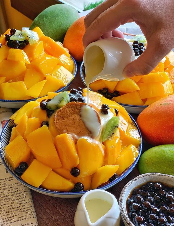 (台南美食)南泉推出芒果冰囉!#南泉冰菓室 - 芒果🥭芒果🥭,今年第一碗芒果冰登場! - 這次新