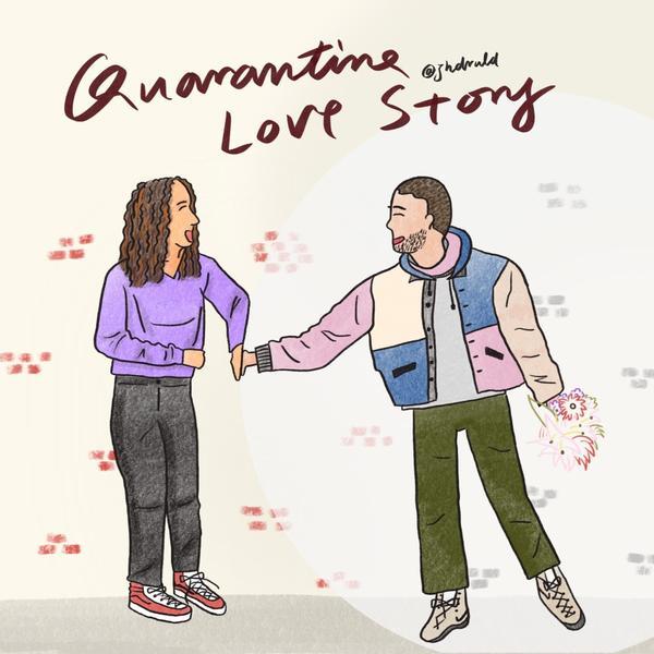 浪漫愛情電影真實上演【 居家隔離譜出愛情故事 】- Quarantine Love Story In