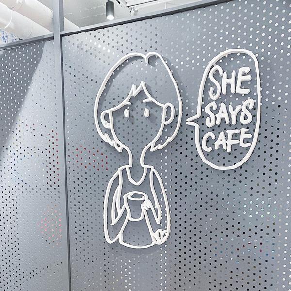基隆🇹🇼|She Says Cafe 她說咖啡在基隆二信中學附近的一間咖啡廳,經過了很多次竟然都