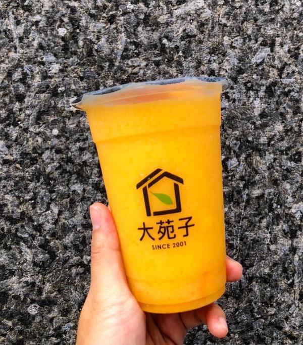📌 Food in 台北|中山|大苑子 🥭#大苑子標榜新鮮水果手搖飲的大苑子在這個芒果盛產的季節