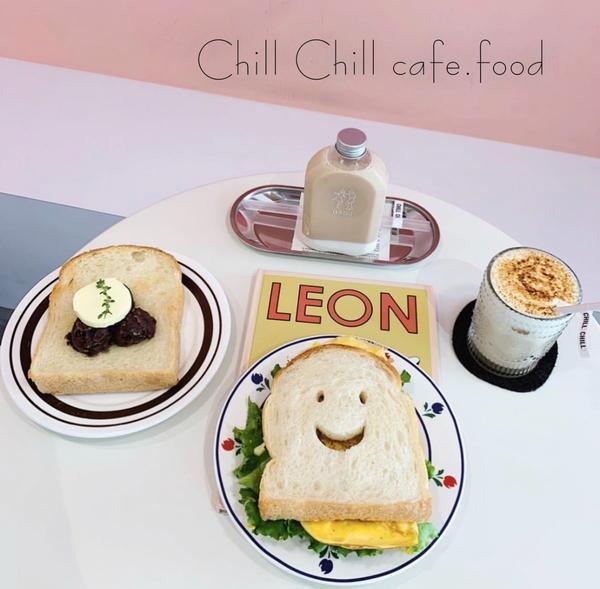 台中北區-來不膩的韓風咖啡廳Chill❣每次來ChillChill都有不同的新菜單這次推出春季菜單啦