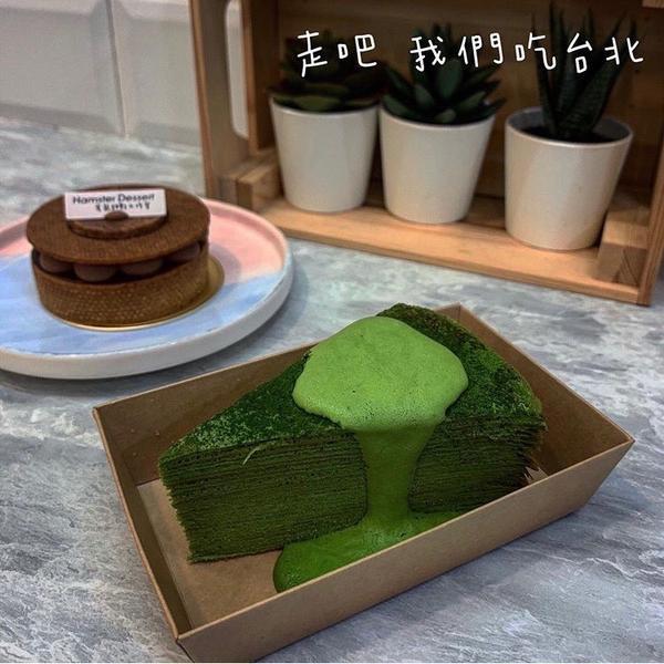 良菓茶舖甜點是由倉鼠甜點工作室提供的在良菓茶舖寄賣原本沒有抱很大期待的因為在飲料店裡面然後我們剛好經