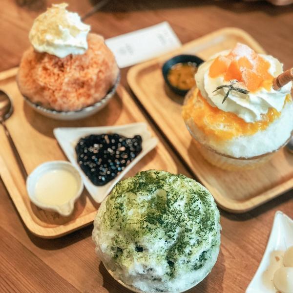 新竹人氣美食店家一皿富器食Mind FoodX超可愛的夏日冰品#皿富器食#茱莉的小小世界✔️京都丸久