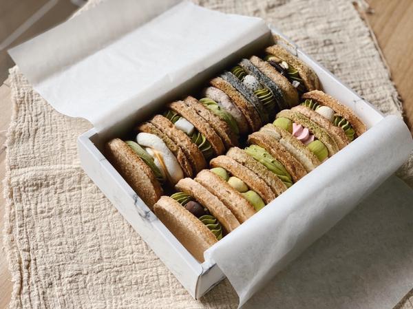 【宅配美食】達克瓦茲控必吃 LM dessert我達克瓦茲系。  /  店家選用的是日本靜岡