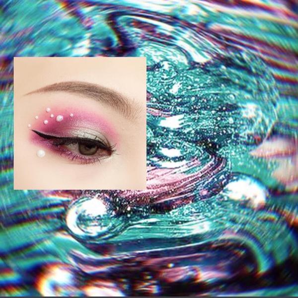 Makeup013黏珠珠比畫眼影還累 - 粉底:etudeofficial Double Lasti