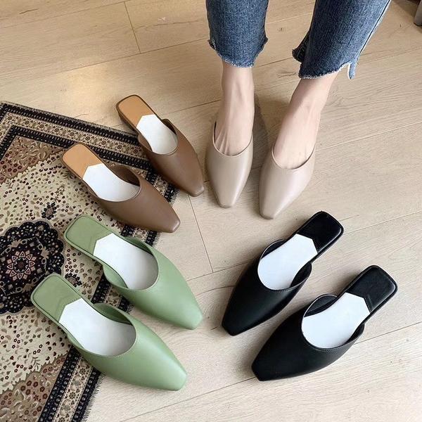 下雨天難道只能穿雨鞋嗎?這雙穆勒鞋‼ 讓妳雨季也能穿美美😆 https://is.gd/wLXQw