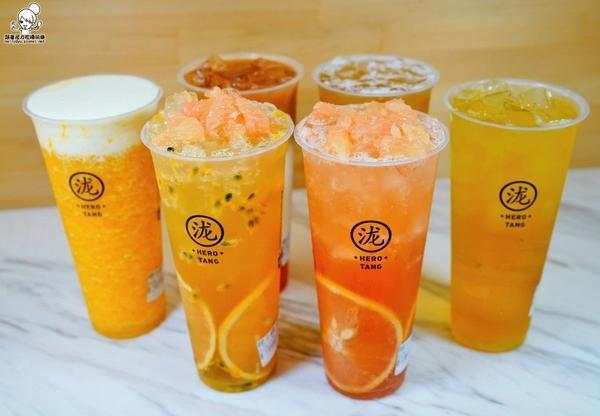 ㊙💯就愛黃金比例鮮果茶飲高雄黑泷堂瑞隆店㊙💯就愛黃金比例鮮果茶飲🍒🥭🍓可以喝到新鮮風味與咀