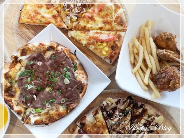 大胃王必須收-超歡樂的20種手工窯烤披薩吃到飽!炸雞、燉飯、義大利麵、沙拉、湯品、飲料、冰淇淋 無限