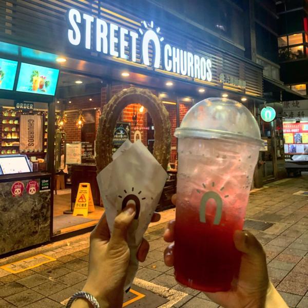 台北最好吃吉拿棒—阿啾🥖〔Street Churros〕吉拿棒專賣店  —吉拿棒 (肉桂)🥖